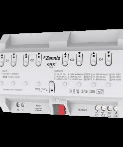 DimingBOX_DX4 Bộ điều chỉnh độ sáng đèn Zennio ZDI-DBDX4