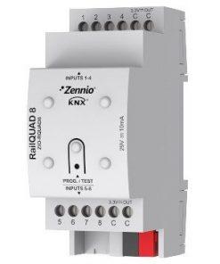 Mô-đun-dau-vao-ZIO-RQUAD8 thiết bị nhà thông minh hệ KNX