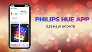 Philips Hue app 3.33
