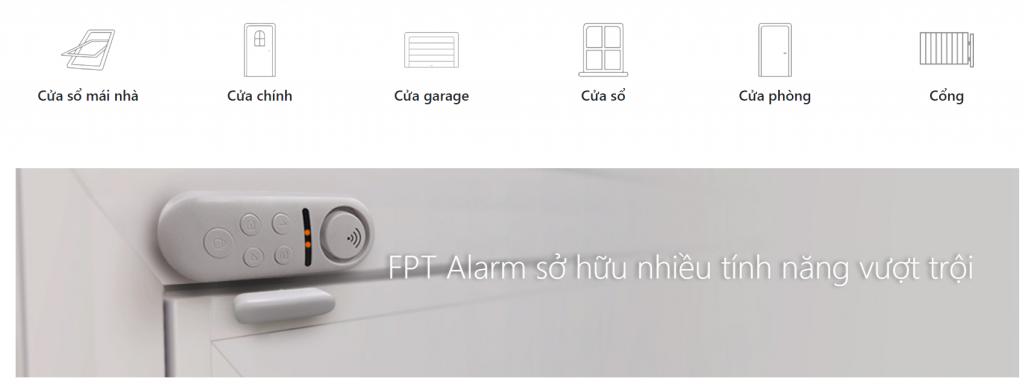 Cảm biến cửa thông minh FPT iHome Alarm Door Contact