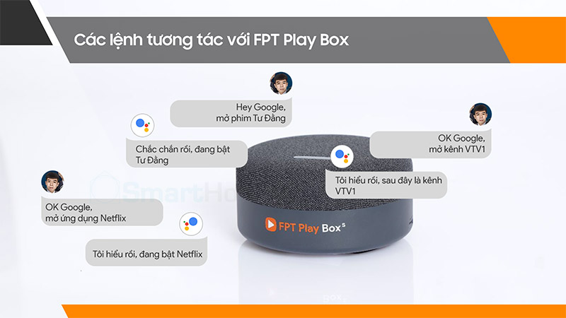 FPT Play Box S 33 google asistant