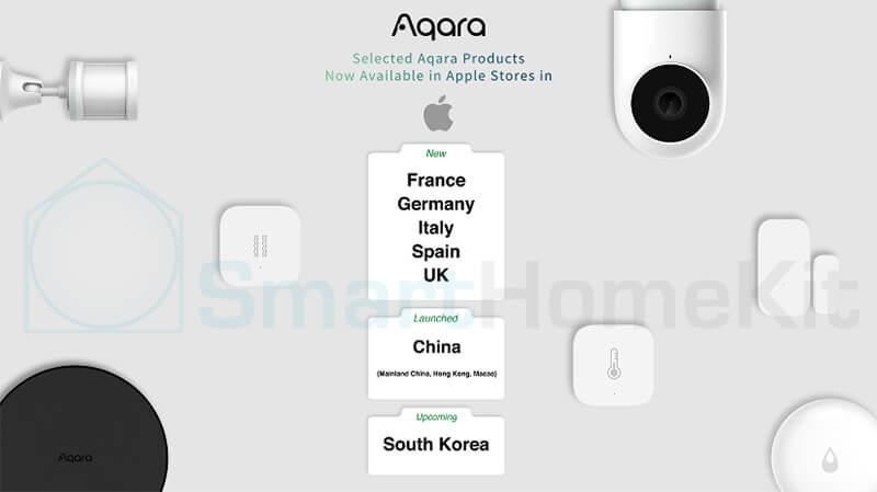 aqara available in apple store us eu