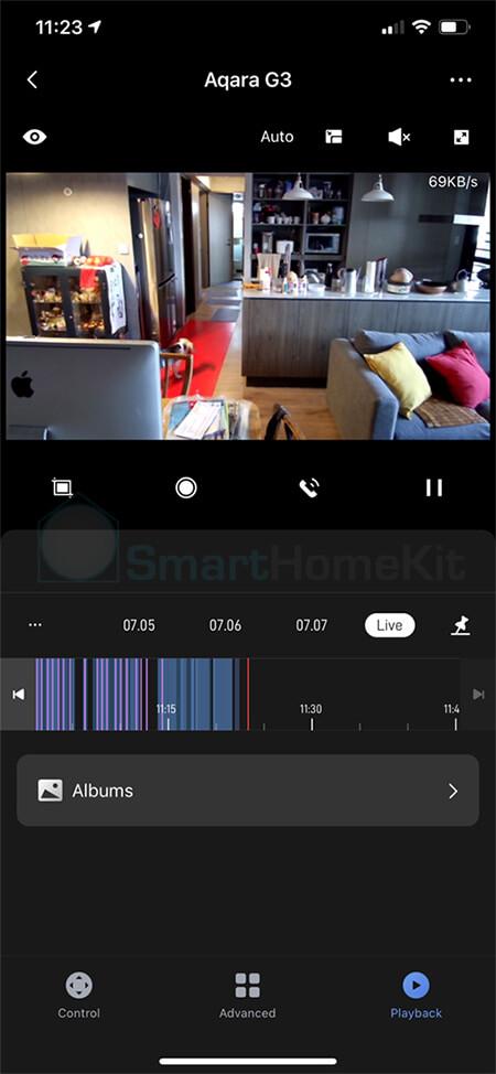 review camera aqara g3 smarthomekit 11