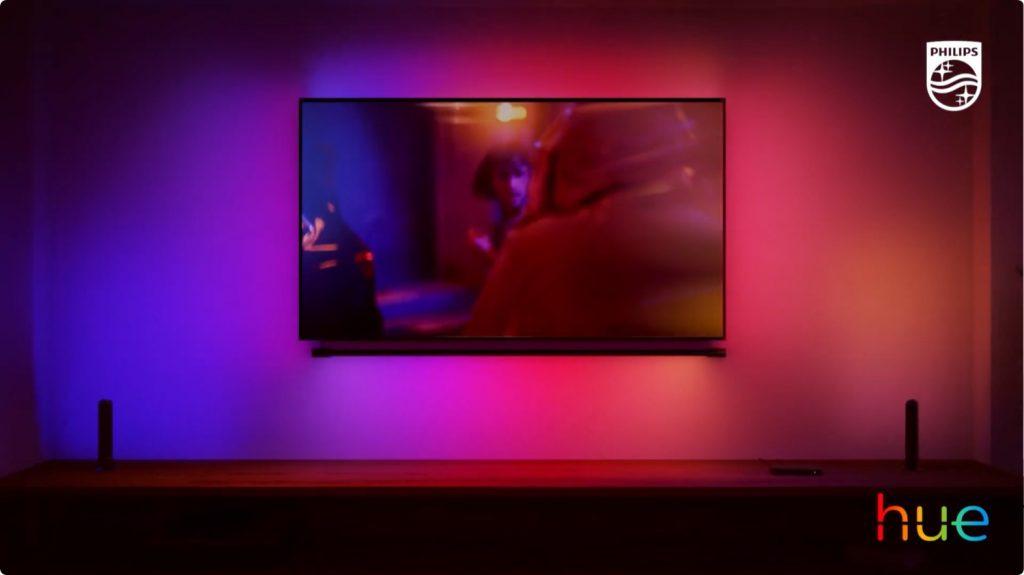 Philips Hue Play Gradient Light Tube tv